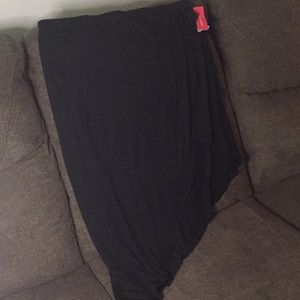 NWT Asymmetrical Black Skirt